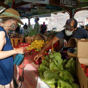Floyd Farmers Market Booth