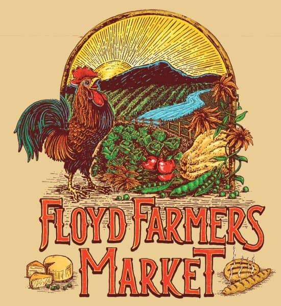 Floyd Farmers Market Logo (Full Artwork)